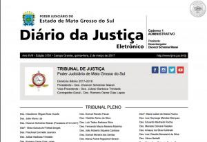 diario oficial da justica 2
