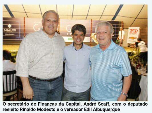 Ex-secretário de Finanças da Capital, Andre Scaff, deputado Rinaldo Modesto e Edil Albuquerque .jpeg