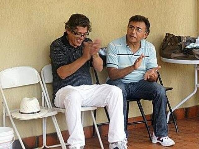 Eduardo Carvalho, assassinado, e Odilon de Oliveira, festeiros.jpg